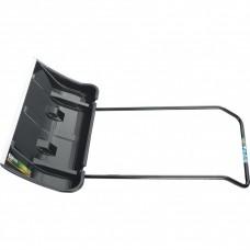 Движок для уборки снега пластиковый, 780 х 425 х 1230 мм, 2 части (ковш, стальная рукоятка), Palisad