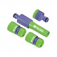 Набор для подключения шланга 1/2, распылитель, 3 адаптера к распылителю Palisad