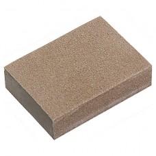 Губка для шлифования, 100 х 70 х 25 мм, средняя жестк, 3 шт, P 60/80, P 60/100, P 80/120 Matrix