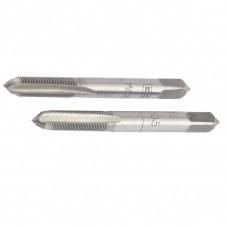 Метчик ручной М5 х 0,8 мм, комплект из 2 шт Сибртех