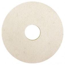 Круг полировальный из натурального войлока, 125 х 20 х 32 мм Matrix