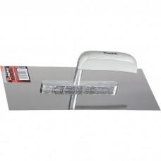 Гладилка из нержавеющей стали, 280 х 130 мм, деревянная ручка Matrix