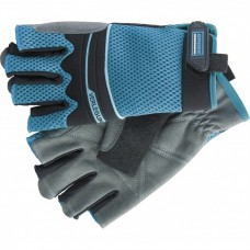 Перчатки комбинированные облегченные, открытые пальцы Aktiv, L Gross