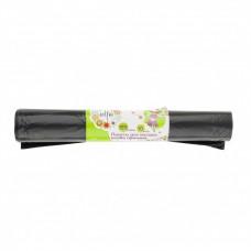 Пакеты для мусора 120 л х 10 шт, пвд прочные черные, длинный ролик, Россия Elfe