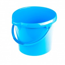 Ведро пластмассовое круглое 12 л, голубое Elfe