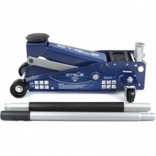 Домкрат гидравлический подкатной, быстрый подъем, 3 т, Quick, 130-465 мм, профессиональный Stels