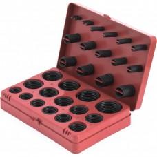 Набор резиновых уплотнительных прокладок, D 7-53 мм, 406 предмета Сибртех