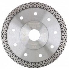 Диск алмазный, 115 х 22,2 мм, тонкий, сплошной (Jaguar), мокрая резка Gross