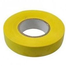 Изолента ПВХ, 15 мм х 10 м, желтая Сибртех