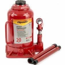 Домкрат гидравлический бутылочный 20 т, h подъема 215-405 мм Sparta Compact