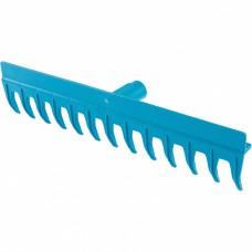 Грабли пластиковые, 430 мм, 13 прямых зубьев, усиленные, без черенка, Luxe, Palisad