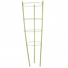 Поддержка для растений круглая H 90 см, металл в пластике, 4 кольца Palisad