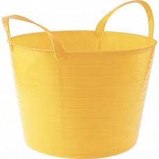 Ведро гибкое сверхпрочное, 14 л, желтое, Россия, Сибртех